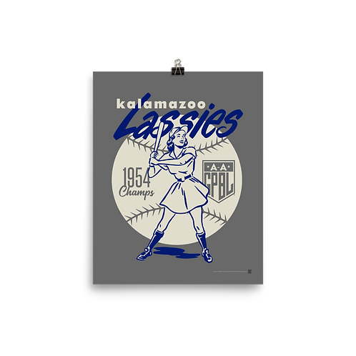 WOTD Kalamazoo Lassies by Gary Cieradkowski - Matte Paper Giclée