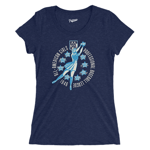 Diamond - AAGPBL - 1946 Women's T-Shirt