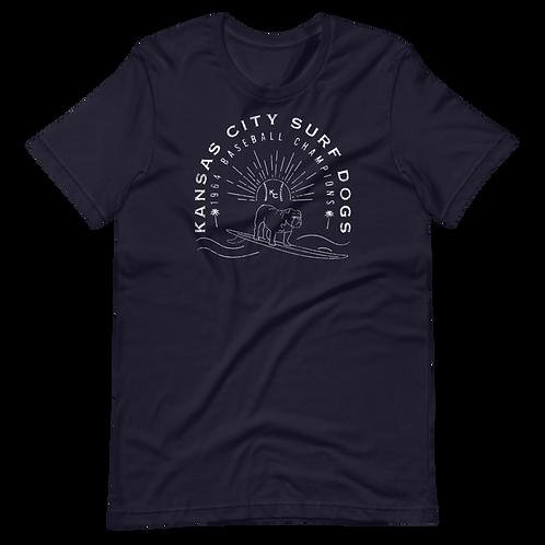 Kansas City Surf Dogs (Original) - Unisex T-Shirt