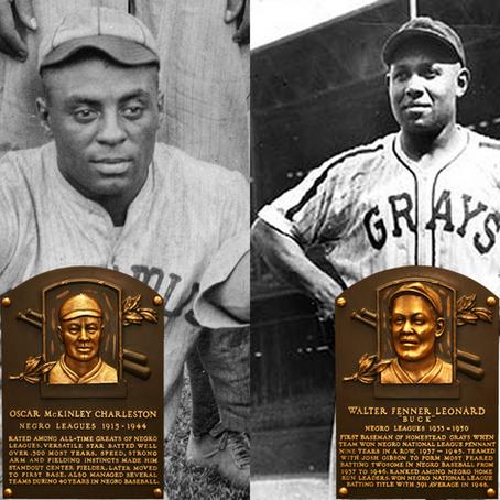 FINAL FOUR - Oscar Charleston vs. Buck Leonard -       Negro League Centennial Tournament