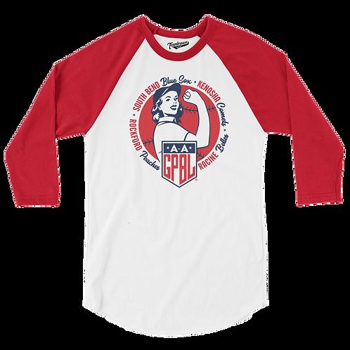 Diamond - AAGPBL Original 4 - Baseball Shirt