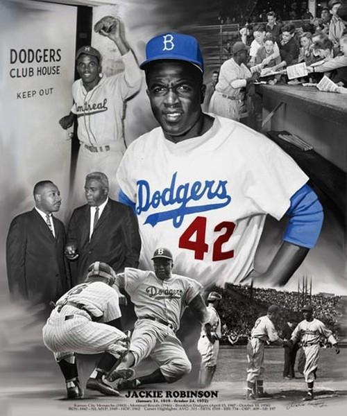 Jackie Robinson – Baseball pioneer