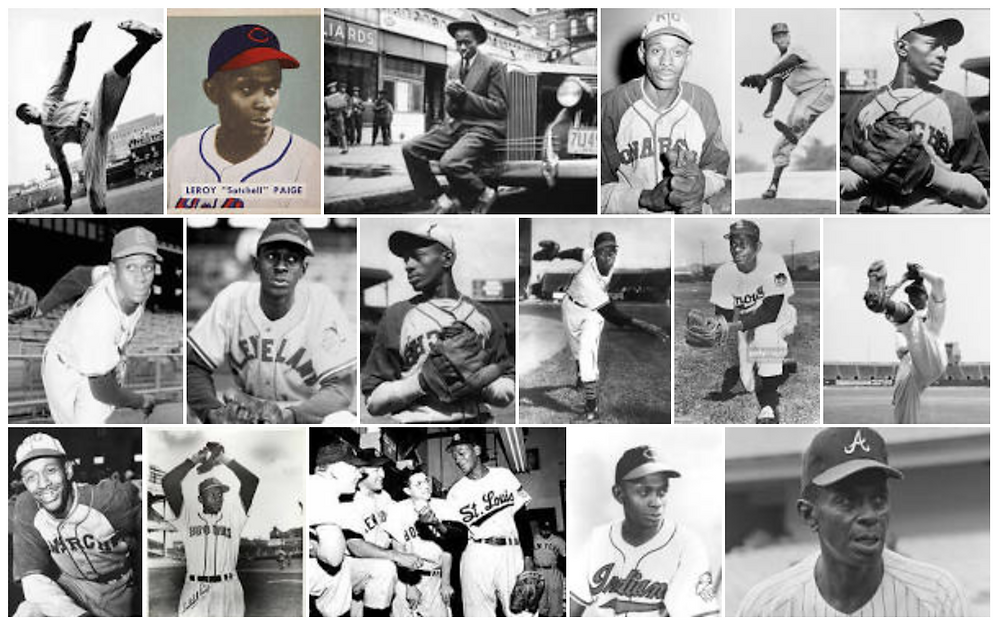 The many teams of Satchel Paige's career