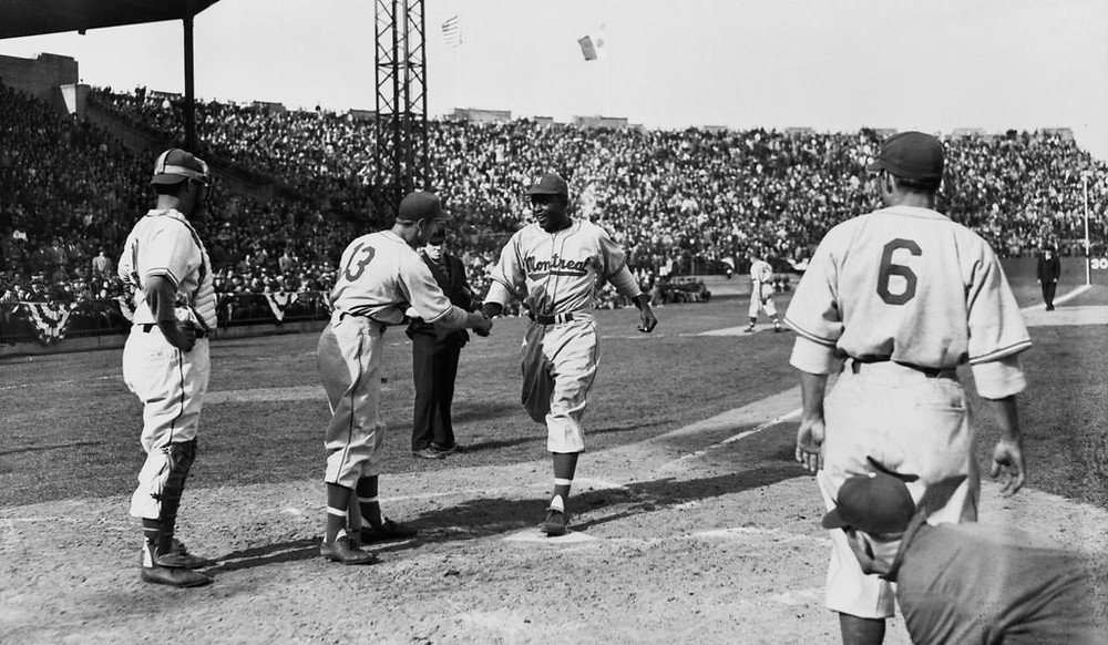 Jackie Robinson on the Montreal Royals