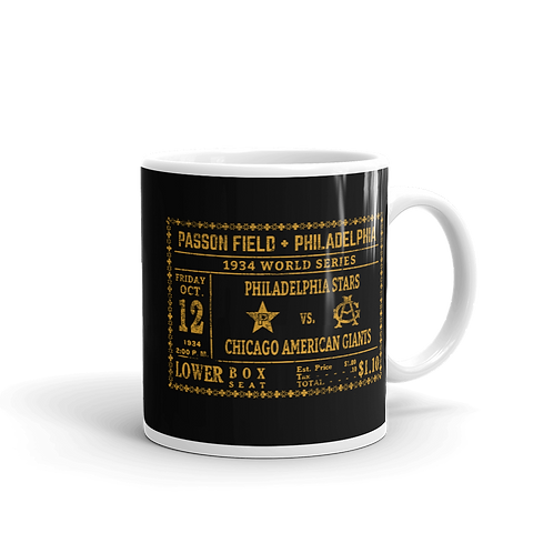 1934 NLB World Series 11oz Mug