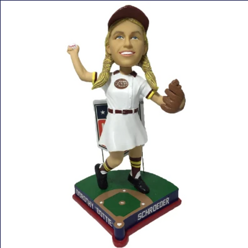 PRE-SALE - Dottie Schroeder - Fort Wayne Daisies - AAGPBL All-Star Bobblehead