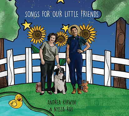 Songs for our little friends Album cover