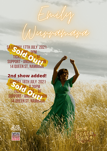 Emily Wurramara sold out