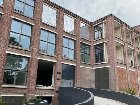 Rénovation  d'un entrepôt des 3 suisse. ( 58 logements)