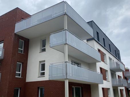 Construction  d'une résidence logements collectifs à LEERS pour Bouygues Immobilier  ( 25 logements)