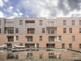 Isolation thermique BLOKK ® sur une résidence Domitys à Lesquin  (124 logements)