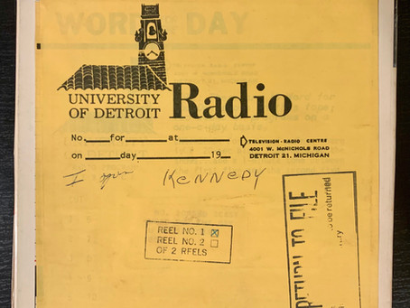 Rare Audio from the Rabe Vault: Bobby Kennedy as you've never heard him.