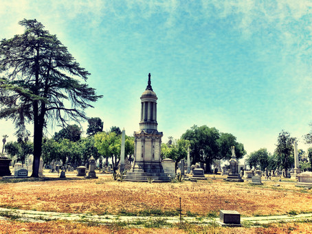 Interview in a Cemetery with The Order of the Good Death's Caitlin Doughty