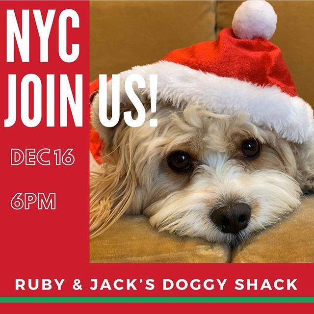 Join us tonight at 6pm in NYC! It's goin