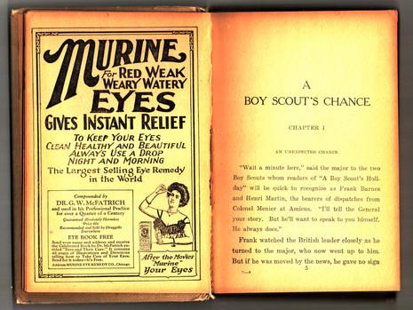 1921 Murine Advertisement