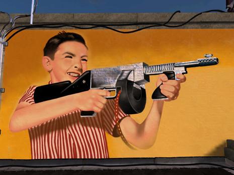 Tommy's gun