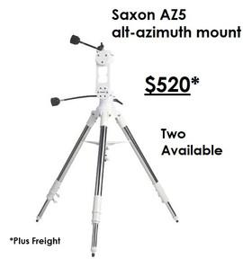 Saxon AZ5 Mount with Steel Tripod - Copy