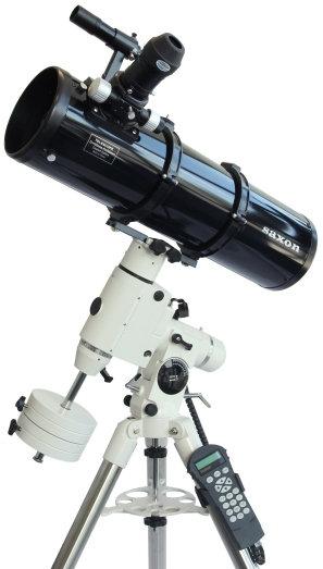 Saxon 150mm Newtonian HEQ5 GoTo telescope