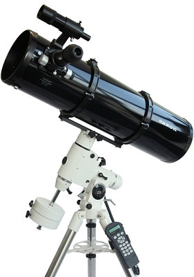 Saxon 200mm Newtonian HEQ5 GoTo telescope