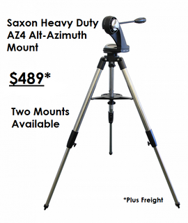 Saxon Heavy Duty AZ4 Alt-Azimuth Mount -