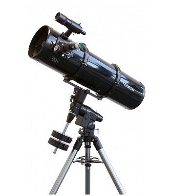 Saxon 200mm F/5 Newtonian and EQ5 s/steel legs