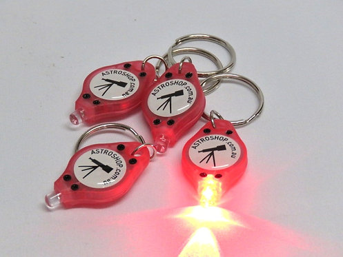 Astro Shop Keychain LED Lights - 4 per pack
