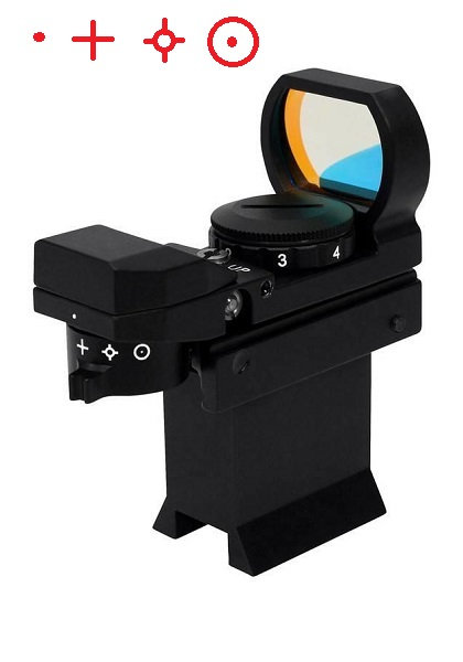 Prostar Multi-Pattern Metal Red Dot Finder