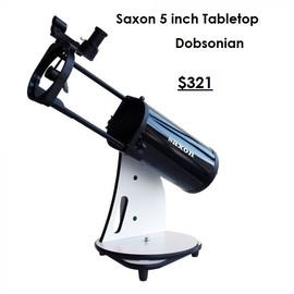 saxon 5 DeepSky CT Dobsonian Telescope
