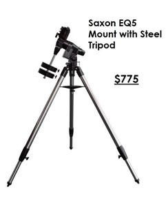 Saxon EQ5 Mount with Steel Tripod
