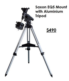 Saxon EQ5 Mount with Aluminium Tripod