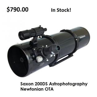 Saxon 200DS Astrophotography Newtonian -