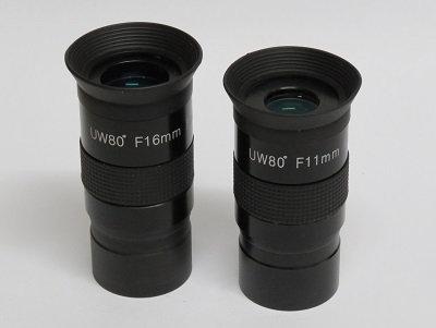 """Prostar 80° UWA eyepieces, 1.25"""""""