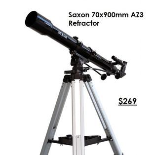Saxon 70x900mm AZ3 Refractor