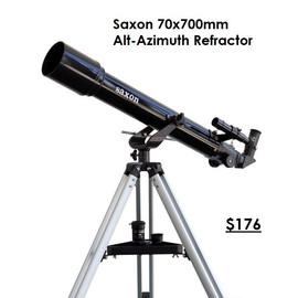 Saxon 70x700mm Alt-Azimuth Refractor