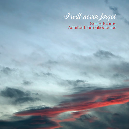 I will never forget (single)