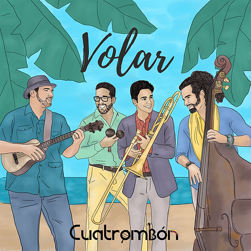 VOLAR- CUATROMBÓN -(high definition audio files)