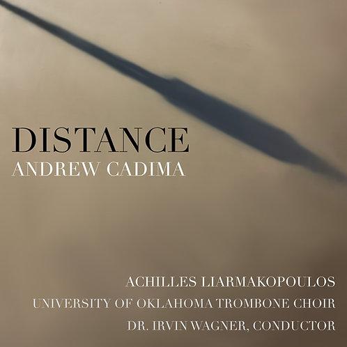 """""""Distance"""" - Andrew Cadima"""