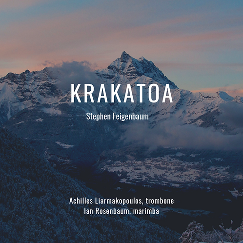 Krakatoa - Stephen Feigenbaum (Sheet Music)