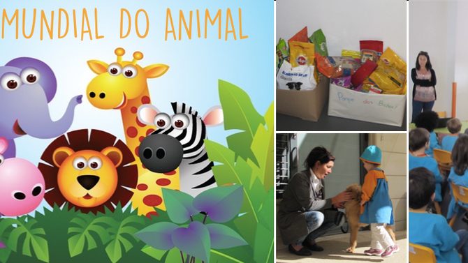 'OS ILUSTES' COMEMORAM                DIA MUNDIAL DO ANIMAL