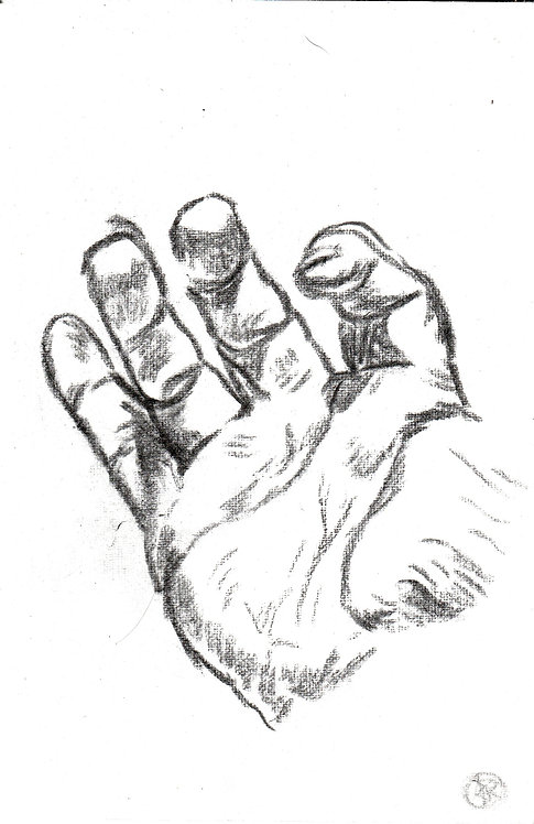 sketch'hand 2'  2016