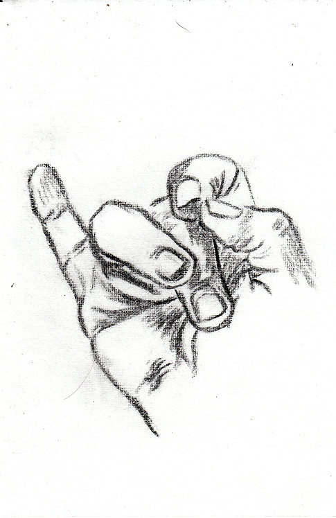 sketch of a hand 4 -2016
