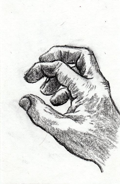 sketch - hand  7  - 2016