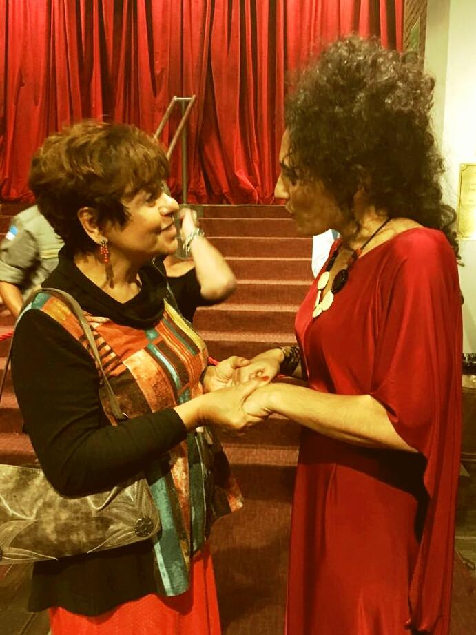 Cantora de Jazz Badi Assad  e Eliane Salek