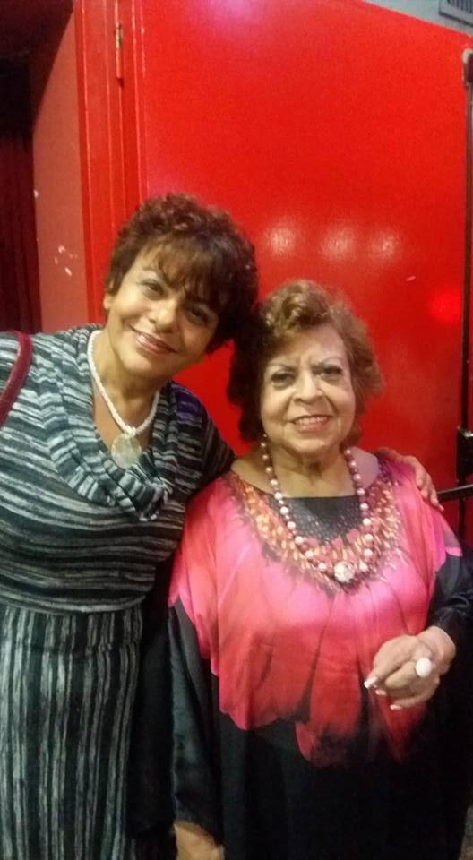 Cantora de jazz Leny Andrade e Eliane Salek