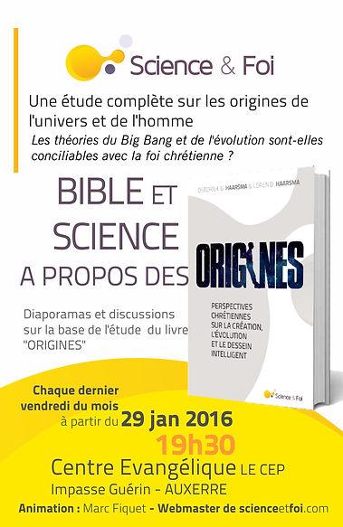 Rencontres science et foi à l'église CEP
