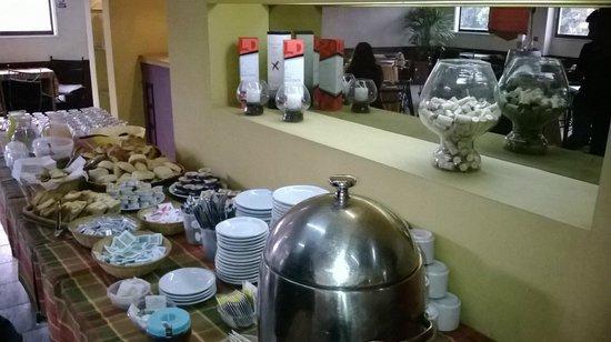 Desayuno- Hotel Vecchia Roma