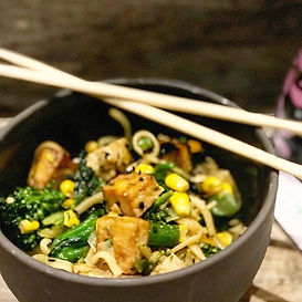 Tofu Chow Mein__I have never been a mass