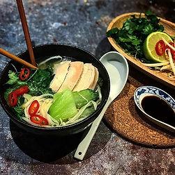 Once I start making noodle soups, I can'