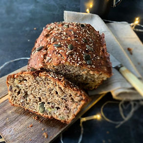 Loaded Breakfast Loaf__The thing I love