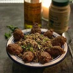 Lebanese Spiced Kofta with Wholewheat Sp